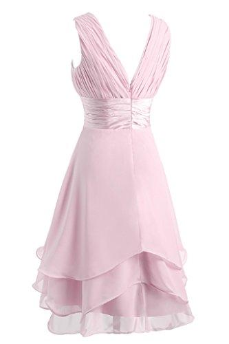 Ivydressing -  Vestito  - linea ad a - Donna rosa 40