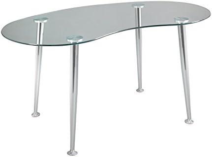 Mesa escritorio ovalada: Amazon.es: Hogar