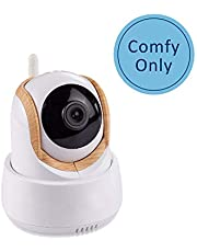 Nannio Comfy Add On Single Camera with Remote Pan Tilt Night Vision 2 Way Talk