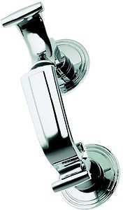 (Polished Chrome Doctors Style Door Knocker (BC25A) OriginalForgery