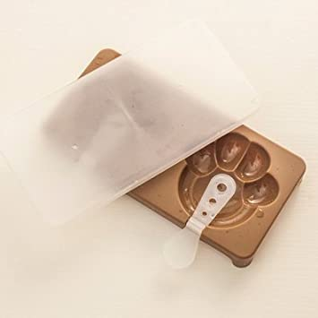 Molde de silicona para helado con diseño de máscara de hielo, Coffee Cat Claw, 1: Amazon.es: Hogar