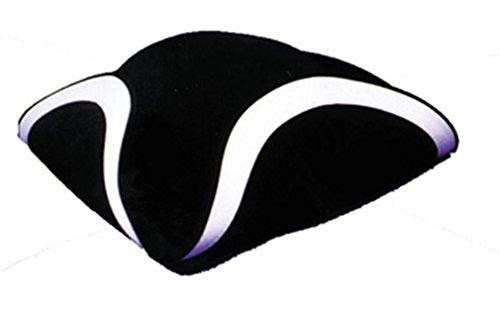 [Tricorn Hat Qual Large] (Adult Colonial Tricorn Hat)