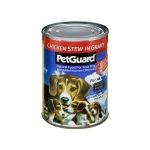 Petguard Chicken Stew in Gravy Dog Food 14 oz. (Pack of 12)