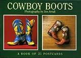 Cowboy Boots Postcard Book, Arndt, 1563137844