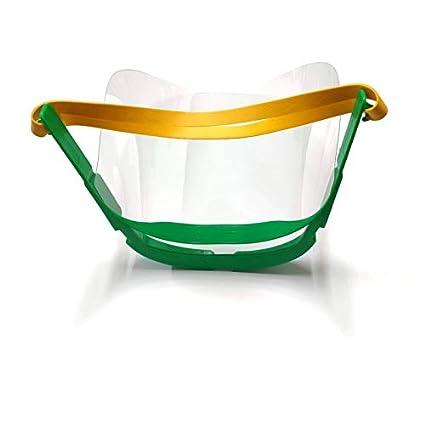 Pantalla de protecci/ón facial Pack x5 x10 contra salpicaduras protege ojos y cara fabricado Espa/ña porPOLISUR PACK DE 10 UNIDAD