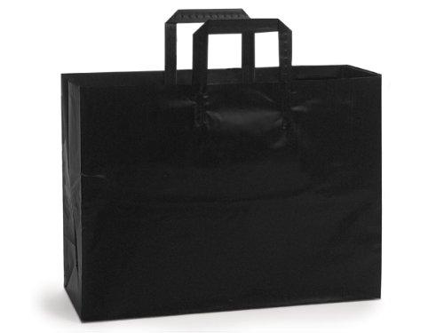 vogue-black-frosted-plastic-bagsbulk-4-mil-16-x-6-x-12-1-unit-100-pack-per-unit