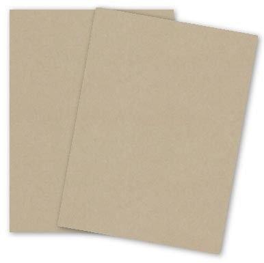 Basic Light Brown Cardstock Paper