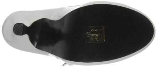 Pleaser EU-CUTIEPIE-02 - Zapatos de tacón de material sintético mujer blanco - Weiß (Wht pat)