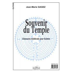 Souvenir du temple for guitar solo PDF