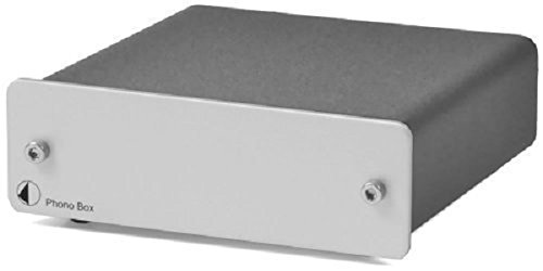 Pro-Ject Audio - Phono Box DC - MM/MC Phono preamp with line output - Silver by Pro-Ject