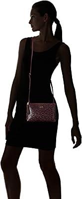 Calvin Klein Freda Top Zip Patent Emboss Crossbody