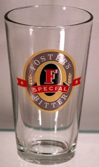 Foster's Special Bitter Glassware - Set of 4 Pint Glasses