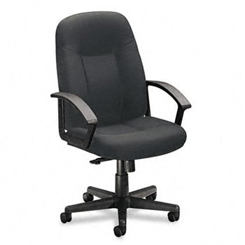 basyx™ VL600 Series Managerial Mid Back Swivel/Tilt Chair CHAIR,MGR MID BK SWVL,CCL 90891 (Pack of2) (Vl600 Series)