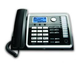 RCA25214 - RCA ViSYS Two-Line Corded Speakerphone