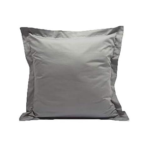 2 Pack, Euro 26x26 Luxury 600 Thread Count 100/% Egyptian Cotton Acrilan Bedding Black Pillow Shams Set of 2