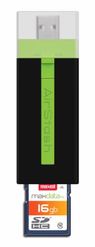 Maxell AirStash Expandable Capacity Wireless 16GB Flash Drive A02 (666601)