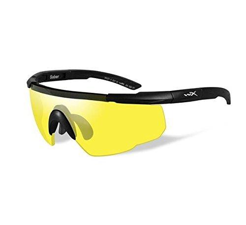 WILEY WX300 WILEY x Saber Advanced Yellow/Black Matte Gun Stock - Stock Sunglasses