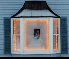 Wonder Window (Window Wonder Christmas Lights with 4 Rod Pack)