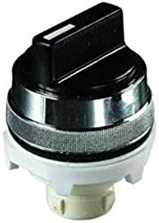 product image for Clippard PL-T3T-B Selector, Maintained 90 Degree Twist, 30 mm, Black