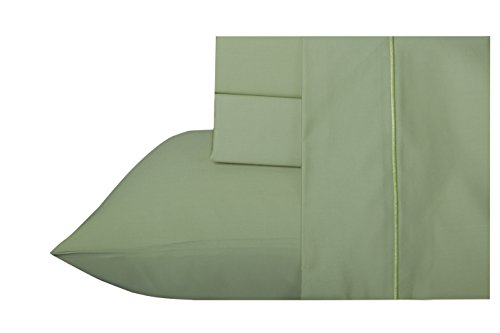 800 Thread Count 100% Long Staple Egyptian Cotton Sheet Set, Full Sheets, Luxury Bedding, Full 4 Piece Set, Smooth Sateen Weave,Nile, by Audley (Cotton Sateen Bedding)
