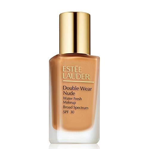 (Double Wear Nude Water Fresh Makeup Broad Spectrum SPF 30, 1.0 oz. 4w1 Honey Bronze)