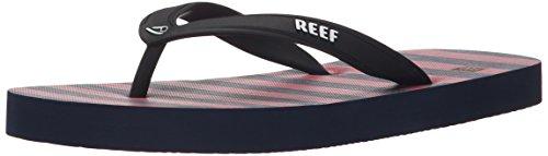Reef Grom Switchfoot Prints, Sandalias Flip-Flop para Niños Varios colores (Red / Blue)