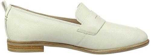 Alania Mocassini Donna Clarks Leather Belle white Bianco BqdEERx6