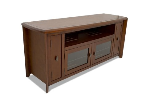 TechCraft 64-Inch Hi-Boy TV Credenza and Media Console, No Tools Required, ()