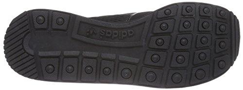 adidas ZX 500 Techfit, Low-Top Sneaker Homme noir (Core Black/Core Black/Ftwr White)