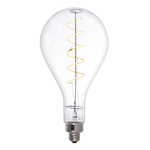 Pear Base - Bulbrite 776300 LED4PS52/22K/Fil LED 4W Pear Dimmable Light Bulb, E26/Medium Base, Antique,