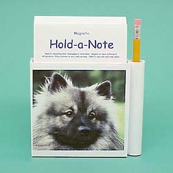 (Keeshond Hold-a-Note)
