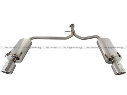 aFe 49-36604 Takeda Axle-Back Exhaust System for Honda Accord Sport Sedan L4-2.4L - Accord Back Wall