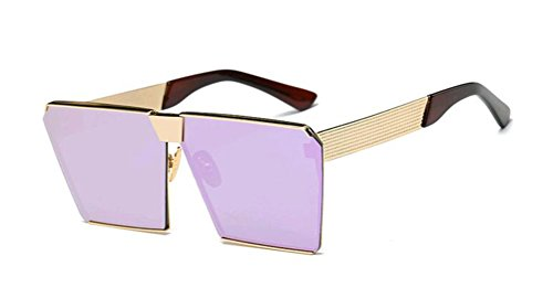 GAMT Polarized Mirrored Square Designer Sunglasses for Women Driving UV400 - Uv Rays How Block Sunglasses