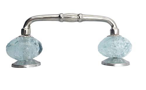 4 inch glass drawer pulls - 1