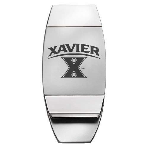 Two-Toned Money Clip LXG Xavier University