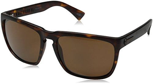 Electric Visual Knoxville XL Matte Tortoise/Polarized Bronze - Polarized Knoxville Electric Sunglasses