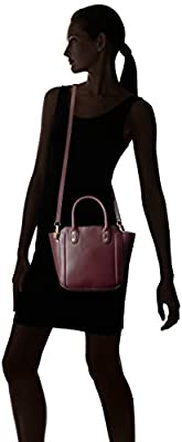 Ivanka Trump Tribeca Solutions Small Satchel-Garnet Oil Tan