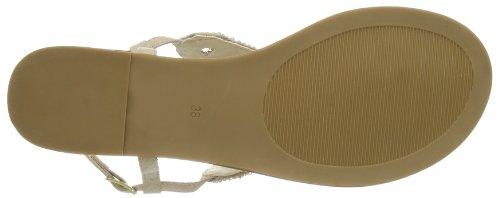 Buffalo London 313-5226 IMI SUEDE - Cierre En T de material sintético mujer beige - Beige (BEIGE 01)