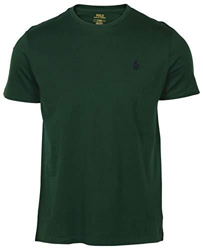 Polo Ralph Lauren Mens Crew-neck T-shirt (Large, Green) ()