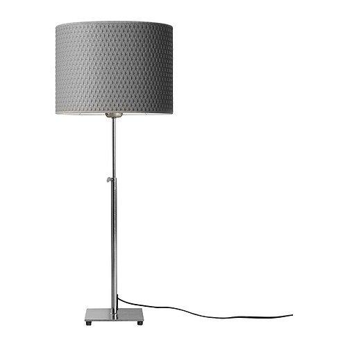 IKEA ALANG - Lámpara de mesa, niquelado, gris: Amazon.es: Hogar