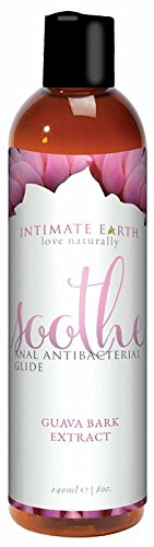 Intimate Organic Soothe Anti-Bacterial Anal Lubricant, 8 Ounce - Soothe Anal Lubricant