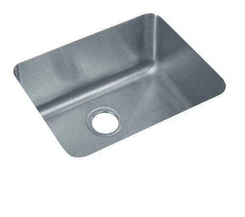Lustertone Undermount Bar Sink (Elkay ELU211510 Gourmet Lustertone Undermount Sink, Stainless)