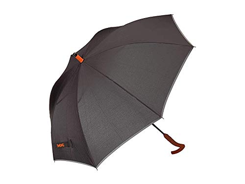 SWIMS Unisex Umbrella Long Black/Orange One Size from SWIMS