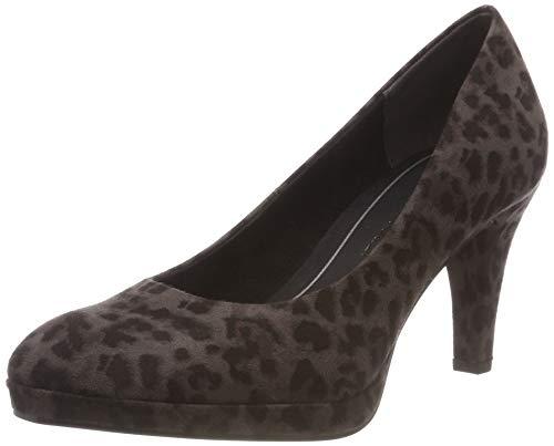 Multi Tozzi Gris Tacón 241 grey Zapatos De 22435 Para 31 Marco dk Mujer Fx8wPd8Tq