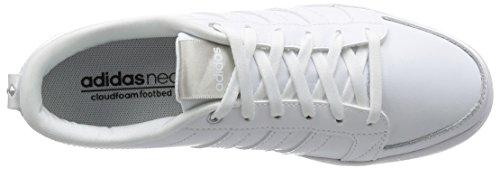 Wei White Qt ftwr Lx Daily Silver Blanc White Femme Baskets Basses ftwr Adidas matte f0AqPw