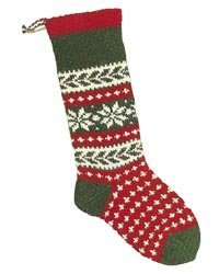 Christmas Stockings Knitting Kits; Snowflake