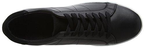 Wood Shoes Sneaker Wood Black Uomo Shoe Bo Black Nero A7OZA