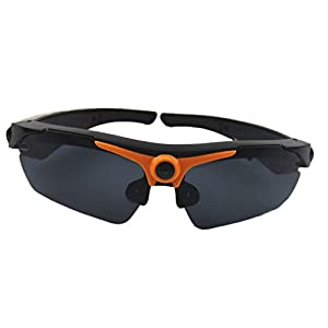 JOYCAM Sunglasses with Camera Full HD 1080P Video Recording Polarized UV400 DVR Eyeglass Camcorder for Outdoor Sports