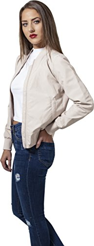 Urban Bomber Donna Ladies Jacket Classics Sabbia Light Giacca rgwr1Hq