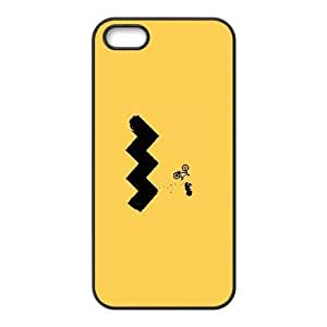 Charlie Brown and Snoopy_001 For iphone 5 5s SE Cell Phone Case Black pu1m0h_7598102